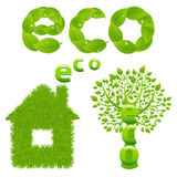Eco Design Elements. Vector Stock Photos