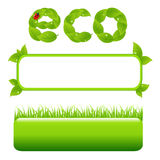 Eco Design Elements. Vector Stock Images