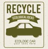 Eco design. Eco grafic design , vector illustration Stock Photos