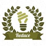 Eco design. Eco grafic  design , vector illustration Royalty Free Stock Photos