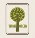 Eco design. Eco grafic  design , vector illustration Stock Image