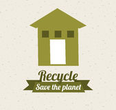 Eco design. Eco grafic  design , vector illustration Royalty Free Stock Photo