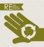 Eco design Royalty Free Stock Image
