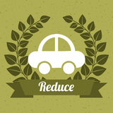 Eco design. Eco  grafic  design , vector illustration Stock Photography