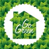 Eco design. Eco grafic design, vector illustration Stock Photography