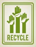 Eco design. Eco grafic  design, vector illustration Royalty Free Stock Photography