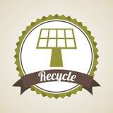 Eco design. Eco  grafic design, vector illustration Royalty Free Stock Image