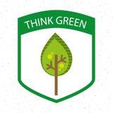 Eco design. Eco  grafic  design, vector illustration Stock Photo