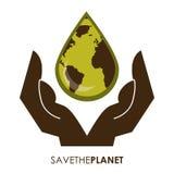Eco design. Eco grafic   design , vector illustration Royalty Free Stock Photography