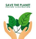 Eco design. Eco grafic    design , vector illustration Stock Photo