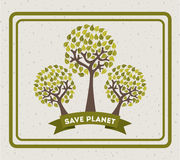 Eco design Royalty Free Stock Photo