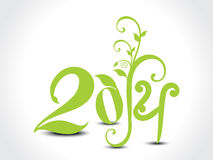 Eco Design For New Year Stock Image