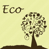 Eco design Royalty Free Stock Images