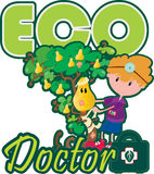 Eco doctor Royalty Free Stock Photo