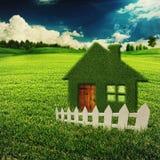Eco dom Obrazy Royalty Free