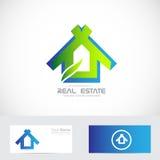 Eco dom Zdjęcia Royalty Free
