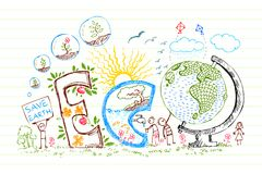Eco Doodle Stock Photos
