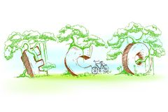 ECO Doodle Stock Images