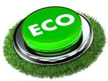 Eco Drucktaste Stockfotos