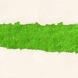eco dziury papier drzejący rocznik zdjęcia stock