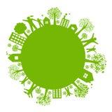 Eco Earth Royalty Free Stock Photography