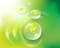 Eco earth bakground concept Stock Images