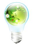 Eco Earth Bulb Stock Photos