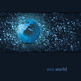 Eco Earth Design Royalty Free Stock Images