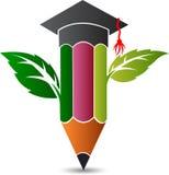 Eco Education logo Stock Image