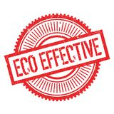 Eco effective stamp Royalty Free Stock Photo