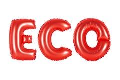 Eco, ekologia, czerwony kolor zdjęcie royalty free