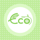 Eco emblem Stock Photo