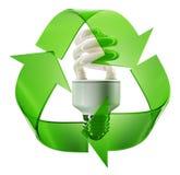 Eco energi Arkivbild