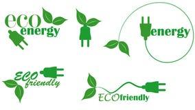 eco energia Fotografia Royalty Free