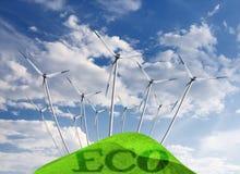 Eco Energie Stockbilder