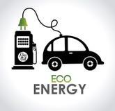 Eco-Energie Lizenzfreies Stockfoto