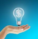 Eco Energiekonzept Stockbild