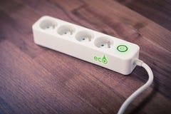 eco energii odosobniony biały wiatraczek Obrazy Royalty Free