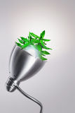 Eco energy. Alternative eco energy saving lamp Royalty Free Stock Photo
