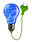 Eco energy bulb Royalty Free Stock Images