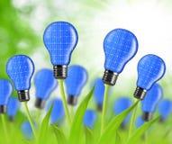 Eco energy bulbs Royalty Free Stock Image