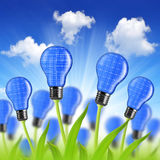 Eco energy bulbs Stock Photos