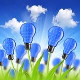 Eco energy bulbs Stock Photos