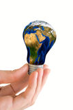 Eco energy concept Royalty Free Stock Photography