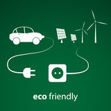 Eco Energy Concept Royalty Free Stock Images