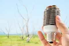 Eco energy concept Stock Photos