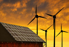 Eco energy concept Stock Image