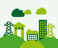 Eco energy Stock Images