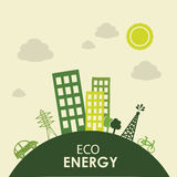 Eco energy Royalty Free Stock Photos