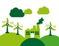 Eco energy Royalty Free Stock Photo